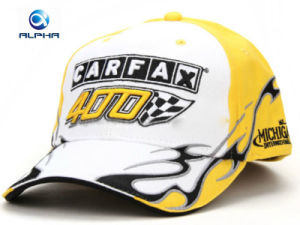 Profeesional Manufacture 3D Embroidery Motorcycle Racing Sports Baseball Cap pictures & photos