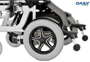 Al Frame Folding Electric Power Wheelchair with 16 Inch to 24 Inch Seat Width pictures & photos