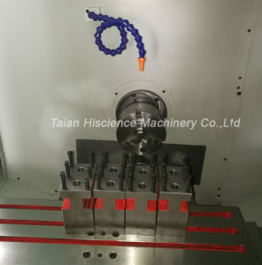 Linear Guide Rail Flat Bed Small CNC Lathe Machine Price pictures & photos