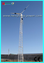 CE Certification of 30kw Wind Turbine System (HF12.5-30KW) , PLC Control System