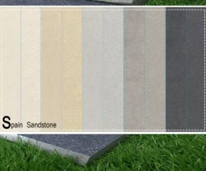 Spain Sandstone/Arenisca Stone Full Body Porcelain Tile pictures & photos