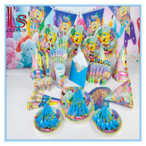 Eco-Friendly Theme Children Birthday Party Supplies Suit 6 Person Luxurious Party Decoration pictures & photos