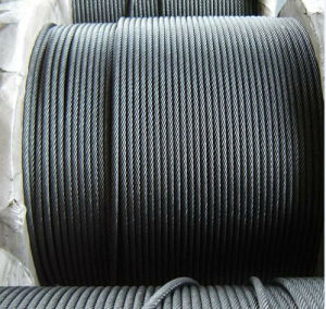 Steel Towing Wire Rope Ungalvanized 6X36 pictures & photos