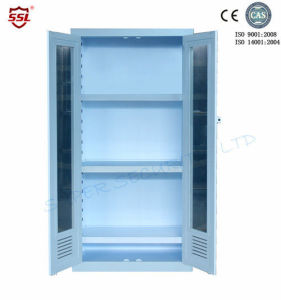 Laboratory Medical Storage Cabinet with Swing Door, Polypropylene 250L