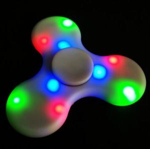 Bluetooth LED Fidget Spinner Music Decompression Rechargeable Fingertips Gyro/Gyroscope Toys pictures & photos