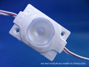 12VDC 2835 Injection LED Module with Len pictures & photos