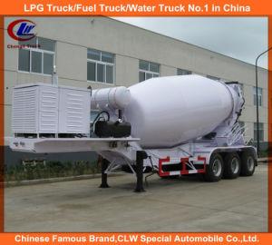 Heavy Duty 3 Axle 16cubic Meter Concrete Mixer Truck Trailer pictures & photos