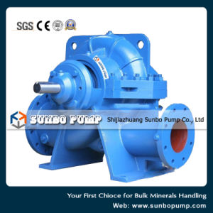 Single Stage Double Suction Split Casing Centrifugal Sewage Pump pictures & photos