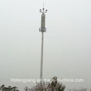 2016 Brand Design Custom Q345, Q235 Monopole Tower, Telecom Antenna Monopole Tower pictures & photos