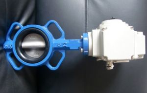 Electricwafer Type Butterfly Valve (D971X-16C) pictures & photos