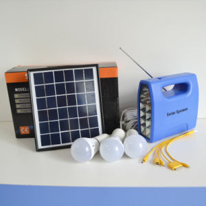 High Quality Assurance 30W LED Economic Solar Power System pictures & photos