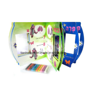 Full Colour Die-Cutting Children Board Book Printing pictures & photos