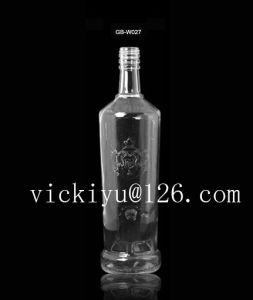 700ml Glass Vodka Bottle with Metal Cap Liquor Glass Bottle pictures & photos