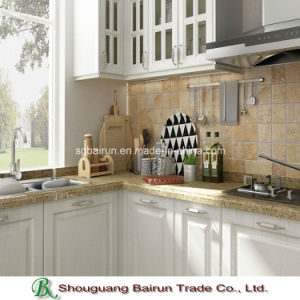 Panel Kitchen Furniture Melamine Kitchen Cabinet pictures & photos
