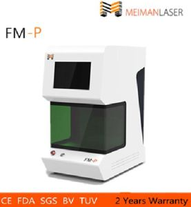 Portable Laser Marking Machine for Metal with Fiber pictures & photos