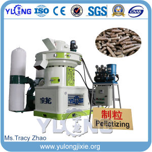 High Efficient Wood Pelleting Machine with Vertical Ring Die pictures & photos