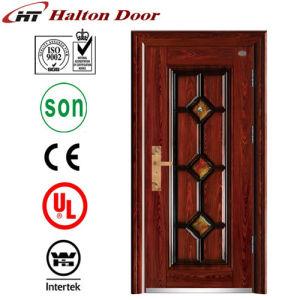 Security Steel Door with Nice Pattern