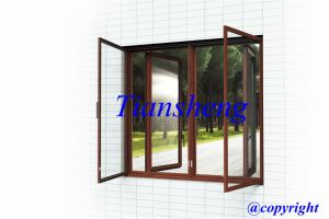 High Quality Customized Aluminum Glass Window pictures & photos