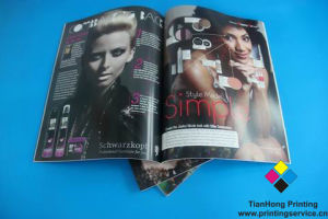 Colorful Fashion Magazine Printing with Best Service pictures & photos