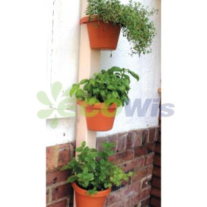 Set of 3 Downspout Plant Pots (HT5034A) pictures & photos