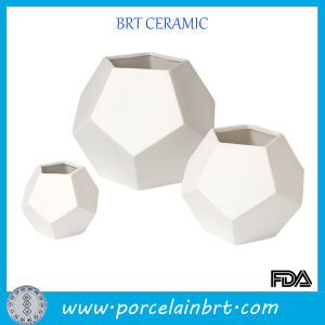Artist Section White Faceted Vase pictures & photos