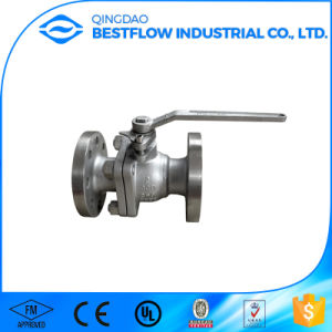 2PC Cast Steel Floating Ball Valve pictures & photos