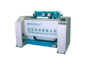 Woodworking Machine Manual Single Head Tenoner for Making Stretch Bars pictures & photos