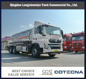 HOWO T5g 6X4 Oil Fuel Tank Truck pictures & photos