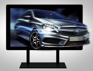 84inch 4k 3D LCD Display pictures & photos
