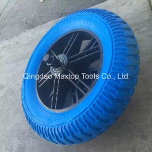 Maxtop Jiaonan Flat Free PU Foam Wheel pictures & photos