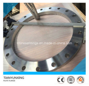 F316 Stainless Steel Flat Face Plate Weld Flange pictures & photos