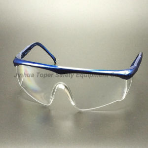 CE En166 Certificate Adjustable Temples Safety Glasses (SG116) pictures & photos