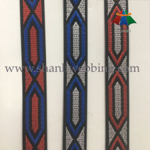 28mm Colorized High Tenacity Polyester Jacquard Webbing for Shoes pictures & photos