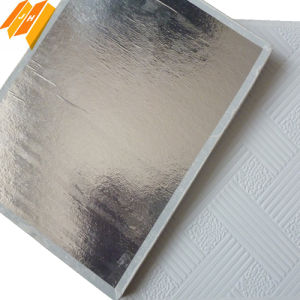 PVC Film Gypsum Ceiling Board (600*600*7mm) pictures & photos