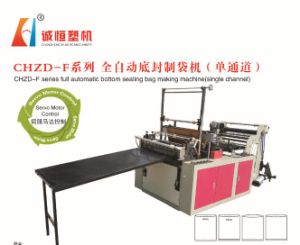 Single Channel High Speed No-Stretching Bag Making Machine (SGS) pictures & photos