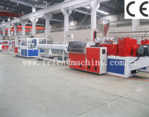 PVC Plastic Pipe Production Machine for Wire Pipe and Water Pipe pictures & photos