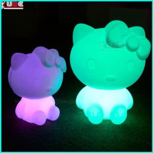Party Table Lamp LED Phone Charge Hello Kitty Lamp pictures & photos