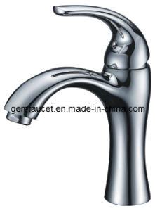Brass Single Hole Single Handle Basin Faucet in Chrome for Bathroom (32001)