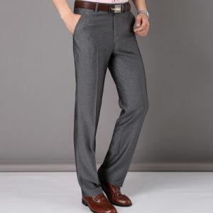 2016 New Fashion Mens Business Formal Suit Pants Slim Fit Design Men Trouser Pants Custom pictures & photos