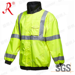 Customized Reflective Safety Wear with Waterproof & Windproof (QF-573) pictures & photos