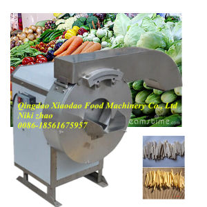 Electric Stainless Steel Automatic Vegetable Slicer/Striper pictures & photos