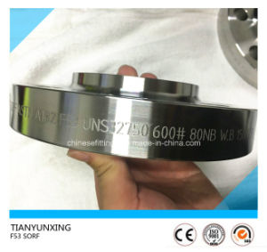 Sorf ASTM A182 F53 Uns32750 Slip on Flange pictures & photos