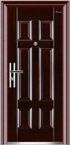 Exterior Position and Steel Security Swing Door pictures & photos