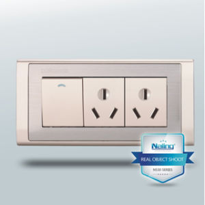 Double Switch Socket / 1 Gang 3 Pin Socket