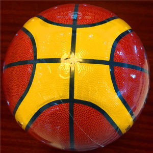 Basketball Customized Wear-Resisting Quality Cheap 12pieces 4#5#6#7# PU Sg0025 Basketball pictures & photos