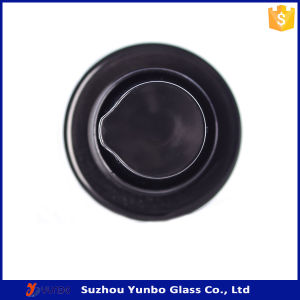 18mm Black Plastic Lotion Pump to Fit Glass Bottles with Protective Clear Cap pictures & photos