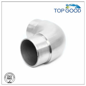 Stainless Steel 90 Degree Handrail Tube Connector pictures & photos