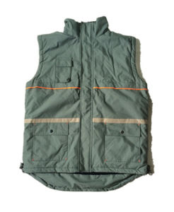 Comfortable and Durable Safety Winter Working Vest (HS-V010)