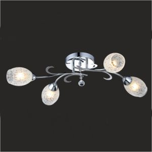 CE and RoHS Approval Decorative Glass Chandelier (Gx-6055-4) pictures & photos