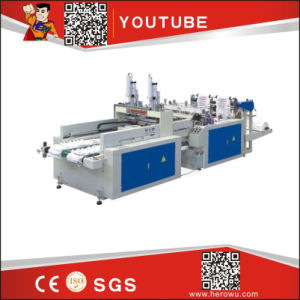 Hero Brand Full Automatic High Speed T-Shirt Bag Making Machine pictures & photos